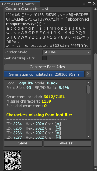 【Unity】TextMeshProで日本語を使う方法。
